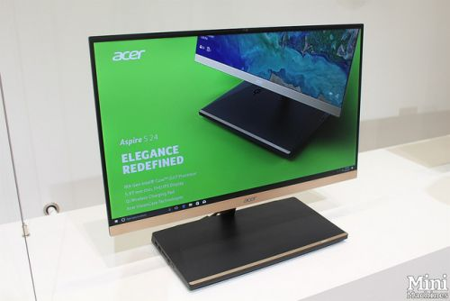 IFA 2017:  Acer Aspire S24, un All-In-One très réussi