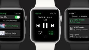 L'application Spotify pour Apple Watch est disponible