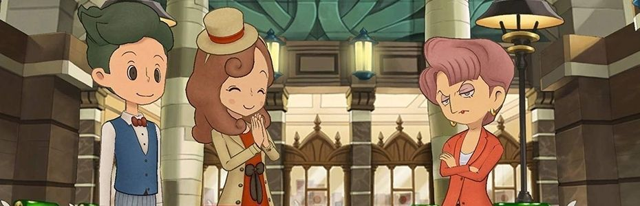 Layton's Mystery Journey:  Katrielle and The Millionaires' Conspiracy Deluxe Edition Plus annoncé sur Switch