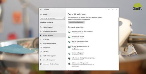 Windows 10 et la nouvelle protection contre les ransomware du Securité Windows, explications