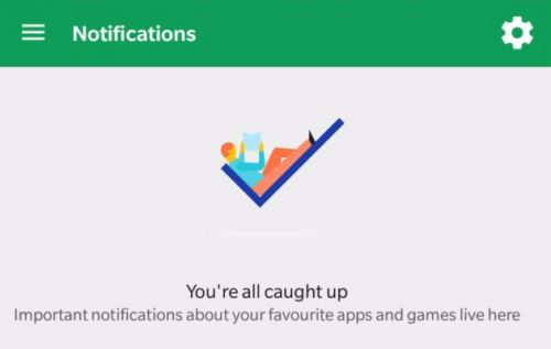 Google Play Store:  une nouvelle section Notifications apparaît