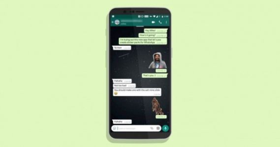 WhatsApp:  transformez n'importe quelle photo en autocollant avec Sticker Studio