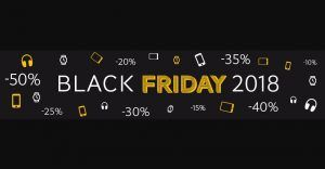 Black Friday 2018:  les bons plans à ne pas rater !