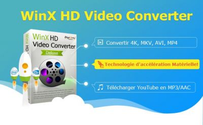 Bon plan:  le pack WinX HD Video Converter Deluxe + DVD Ripper à -75% !