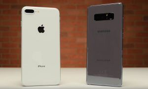 Drop test iPhone 8 Plus vs Galaxy Note 8:  Apple en mauvaise posture