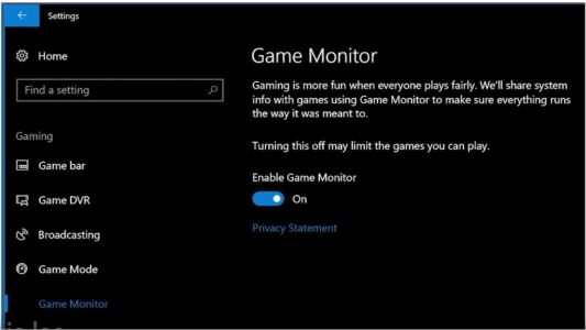 Windows 10 Fall Creators Update et l'API TruePlay, l'anti-triche gaming