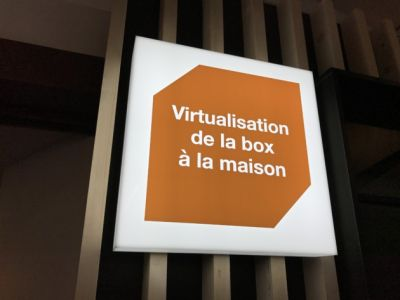 Orange:  premier aperçu de la virtualisation de la box
