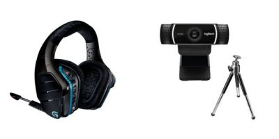 Logitech:  un pack casque gaming + webcam pour le Prime Day