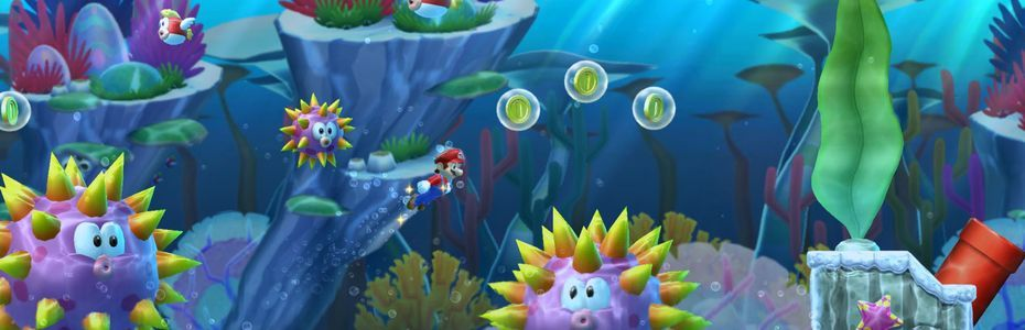 New Super Mario Bros. U Deluxe fait sa promotion sur Switch