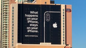 Apple trolle Google et Amazon en marge du CES de Las Vegas