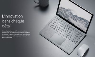 Microsoft présente le Surface Laptop Windows 10 s