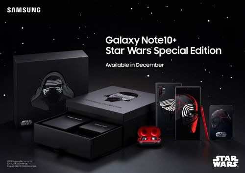 Le Samsung Galaxy Note10+ aura sa Star Wars Edition