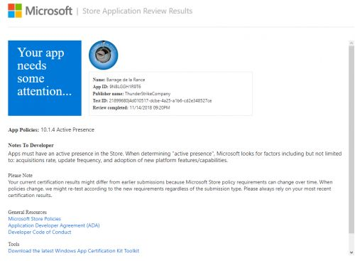Microsoft vire les applications Windows Phone pas assez actives