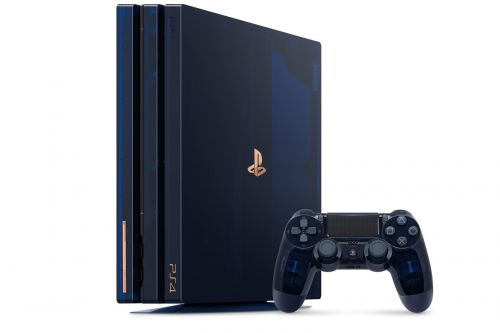 Sony lance la Playstation 4 Pro 500 Million Limited Edition
