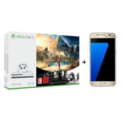 🔥 Bon plan:  le pack Xbox One S + Galaxy S7 + Assassin's Creed Origins est à 429 euros
