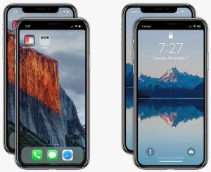 Notch Remover:  l'application permettant de « supprimer » l'encoche de l'iPhone X