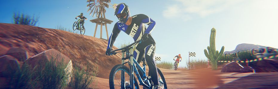 Descenders pédale vers la Nintendo Switch