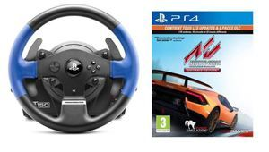 French Days - Volant à retour de force Thrustmaster T150 + jeu à 130 €