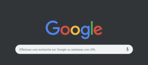 Google Chrome:  le mode sombre arrive sur MacOS, mais pas sur Windows