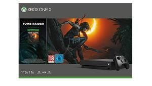 Bon plan - Xbox One X 1 To + FIFA 19 + le dernier Tomb Raider à 449 €
