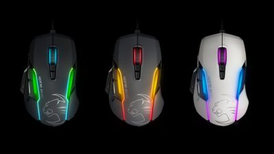 Souris Kone AIMO et clavier Harde AIMO, Roccat vise le gaming RGB
