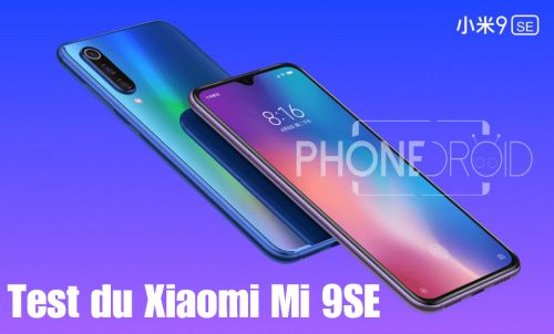 Test du Xiaomi Mi 9SE:  Petit mais costaud!!