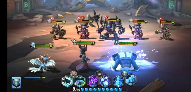 Sortie jeu mobile:  Skylanders Ring of Heroes
