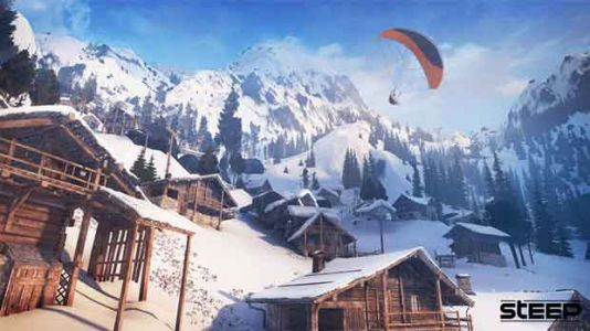 L'Open-world action sports Steep est offert gratuitement !