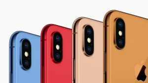 IPhone 2018:  des déclinaisons en bleu, en rouge et en orange ?