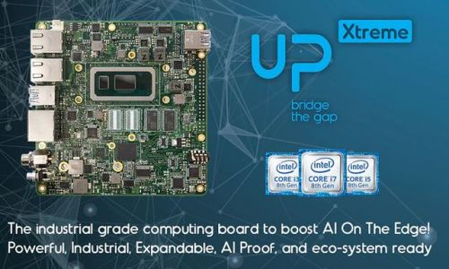 La carte UP Xtreme sous Intel Whiskey Lake entre en financement