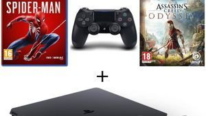 Black Friday - PS4 1 To + 2e manette + Spider-Man + AC Odyssey à 330 €