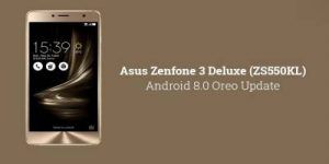 Asus Zenfone 3 Deluxe mise à jour vers Android 8.0 Oreo