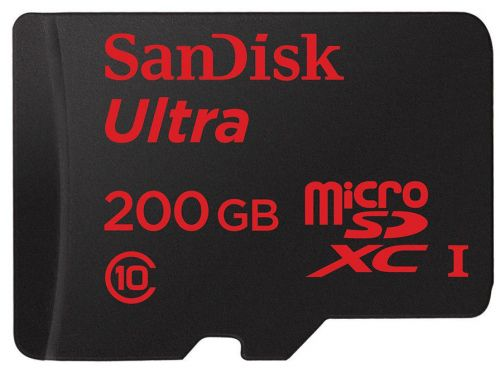 Prime Day - Carte mémoire SanDisk Ultra 200 Go à 50 €