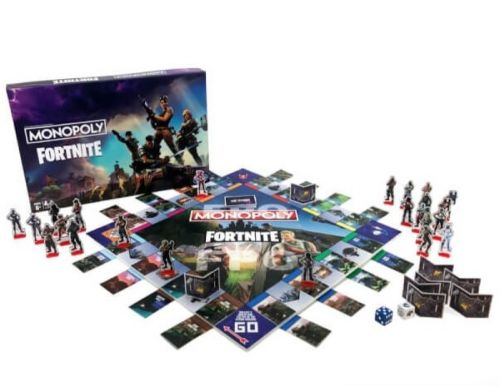 Fortnite a droit à sa version du Monopoly !