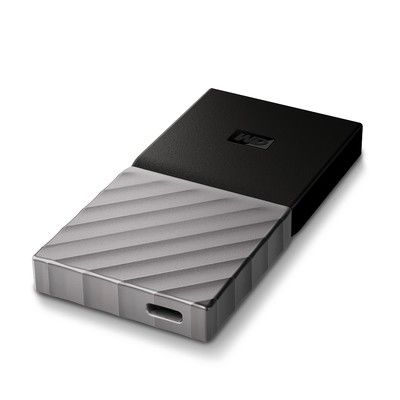 Test:  WD My Passport SSD 256 Go: le SSD portable USB-C compact