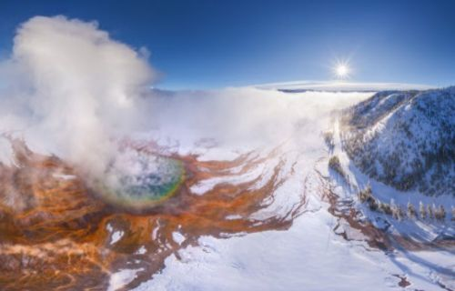 Le super-volcan du parc national de Yellowstone menace toute l'humanité