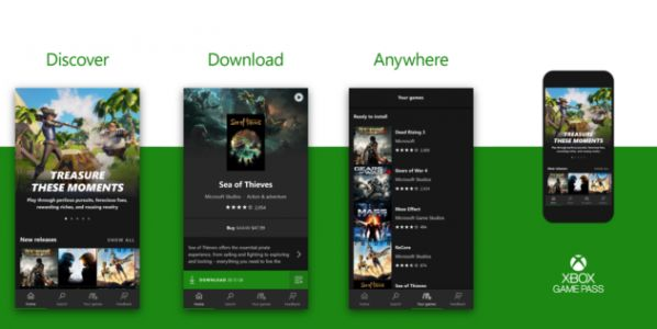 Microsoft lance l'application Xbox Game Pass pour Android et iOS