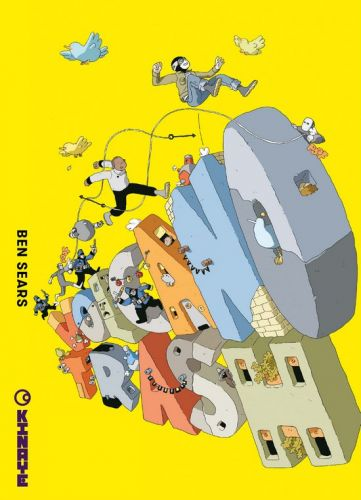 La BD du week-end 65:  Volcano Trash et Night Air, deux histoires de Plus Man et de son robot Hank