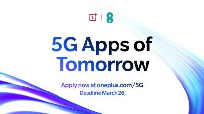 OnePlus lance 5G Apps of Tomorrow:  programme pour développer la meilleure application 5G