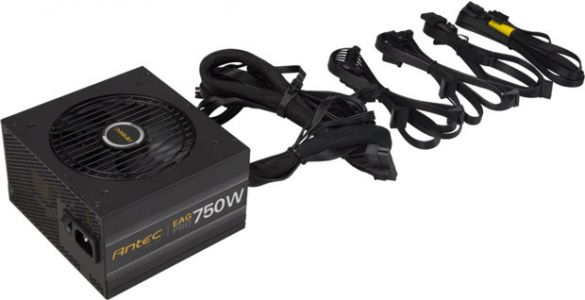 Earthwatts Gold Pro, 750W semi modulaire en 80Plus Gold à 100 €
