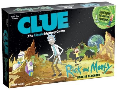 Un premier aperçu du Cluedo version Rick et Morty