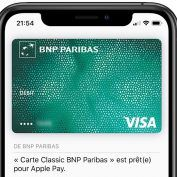 Apple Pay n'est plus proposé par la BNP Paribas