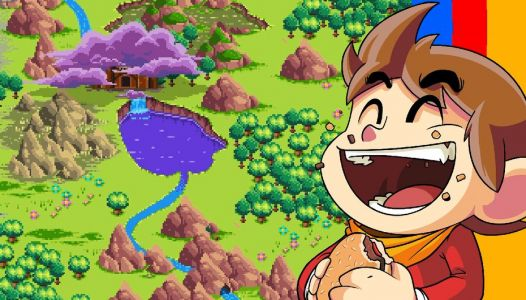 """Test:  Alex Kidd in Miracle World DX, le remake """"in High Tech World"""""""