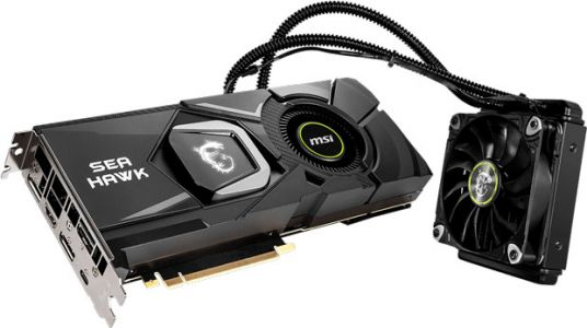 GeForce RTX 2080 Ti SEA HAWK X, MSI passe au Watercooling AIO