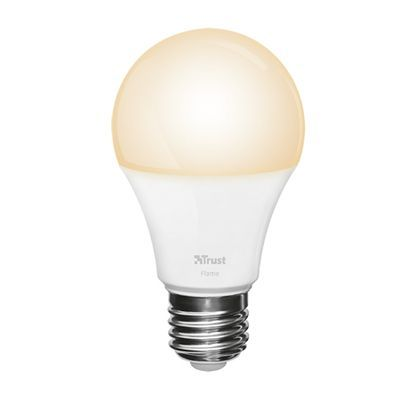Test:  Trust Dimmable Led Bulbe Flame Light Zled-2209: une ampoule blanc chaud