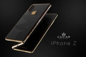 IPhone Z:  voici comment Caviar imagine l' iPhone pliable d'Apple