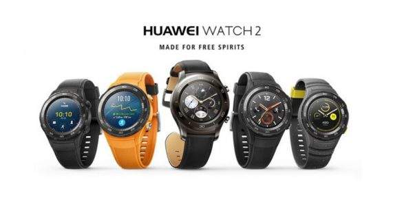 Huawei Watch 2 (2018):  maintenant disponible en trois variantes