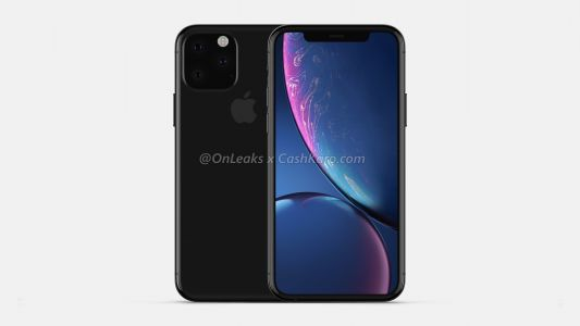 Apple iPhone XI:  design, grosse encoche et appareil photo triangulaire