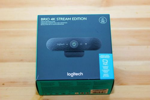 Test - Webcam Logitech BRIO 4K Stream Edition