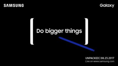 Unpacked 2017:  Samsung annonce la conférence du Galaxy Note 8